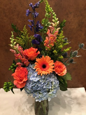 TOUCH OF BLUE from Redwood Florist in New Brunswick, NJ